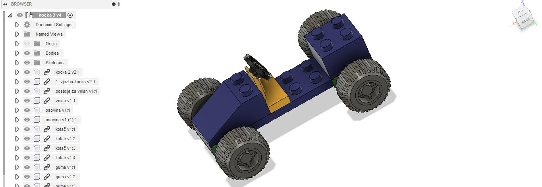 Od ideje do proizvoda ili kako smo izradili vlastiti Lego autić