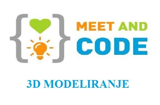 """Besplatna online radionica """"3D modeliranje"""""""