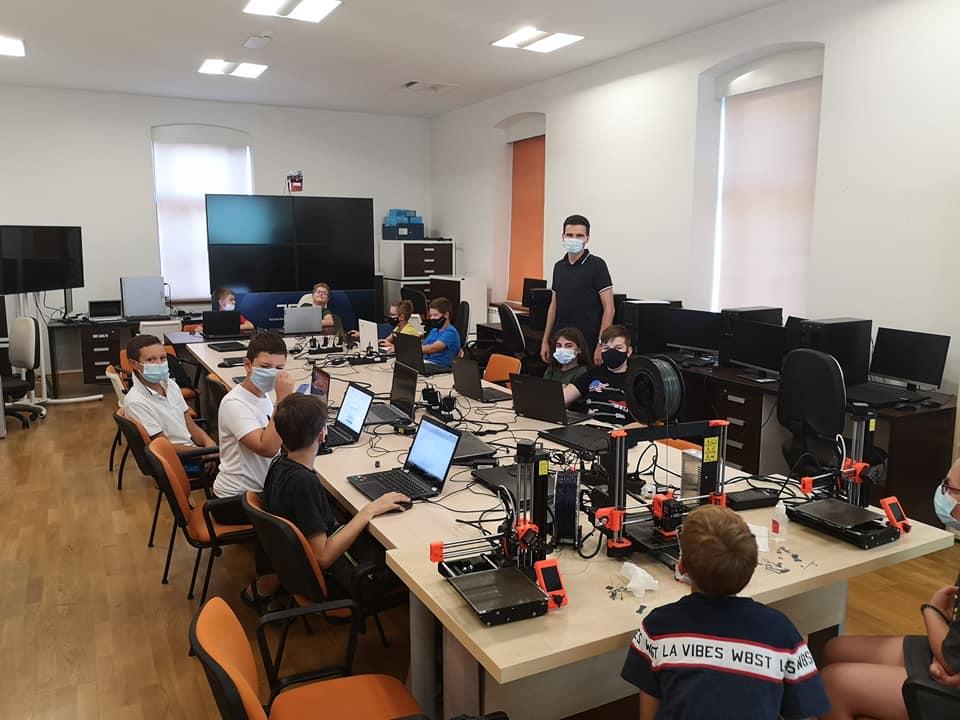3D print LEGO akademija- STEM kamp Međimurske županije